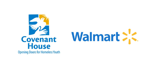 Covenant House and Walmart Logos